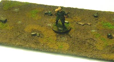 28MM WWII Battlefield Terrain Minefield
