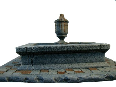 Fountain WWII miniature wargaming buildings terrai