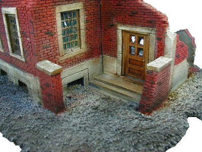 Super Ruined Brick House Wwii Miniature Buildings Gaming Terrain Largest Home Design Picture Inspirations Pitcheantrous